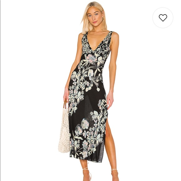 "Free People Dresses & Skirts - Free People ""Never Too Late"" Maxi Dress"